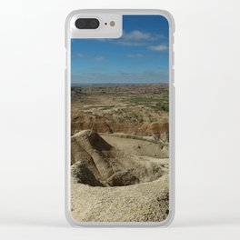 Amazing Badlands Overview Clear iPhone Case