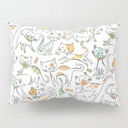Here Kitty Kitty Pillow Sham