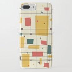 Mid-Century Modern (gold) Slim Case iPhone 7 Plus