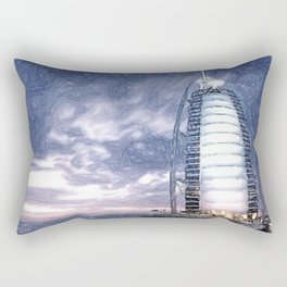 The Pride Of Dubai Rectangular Pillow
