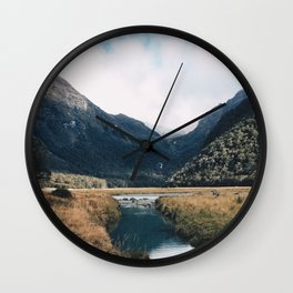 Routeburn Track Wall Clock