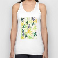 bamboo Tank Tops featuring Bamboo by Federico Faggion
