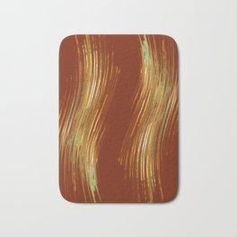 Glam stripes Bath Mat