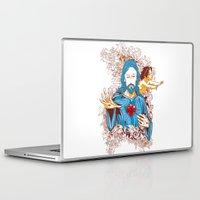 jesus Laptop & iPad Skins featuring Jesus  by Tshirt-Factory