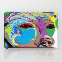 rottweiler iPad Cases featuring Rottweiler by EloiseArt