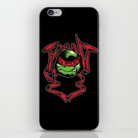tmnt iPhone & iPod Skins featuring TMNT by Daniel Delgado