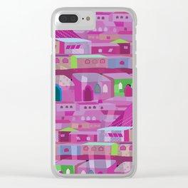 Ecatapec in Purple Clear iPhone Case