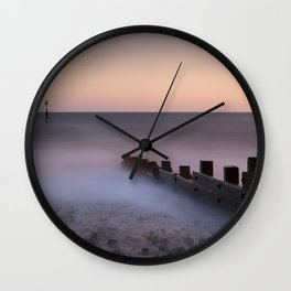 Cromer at Dawn Wall Clock