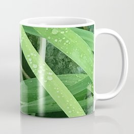 Diamond Drops of Dew on Blades of Grass Coffee Mug