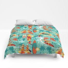 Hawaiian resort Comforters