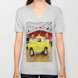 Yellow Roadster Unisex V-Neck