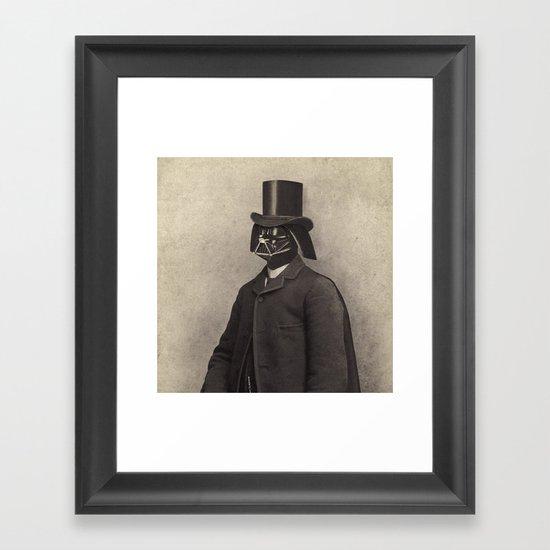Lord Vadersworth  - square format Framed Art Print