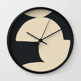 Stacked Abstraction 1 Wall Clock