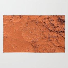 Mars surface Rug