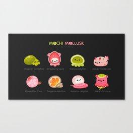 Mochi Mollusk Canvas Print