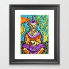कृष्ण Framed Art Print