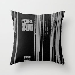 Records 3 Throw Pillow