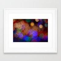friday night lights Framed Art Prints featuring Friday Night Lights 2 by Shawn Hughes