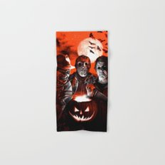 Freddy Krueger Jason Voorhees Michael Myers Super Villians Holiday Hand & Bath Towel