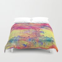 maps Duvet Covers featuring maps by Emily Tumen