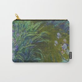 Claude Monet - Irises Carry-All Pouch
