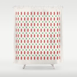Sawyer Family Holiday Shower Curtain