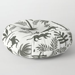Jungle Safari Floor Pillow