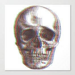 skull_offset Canvas Print