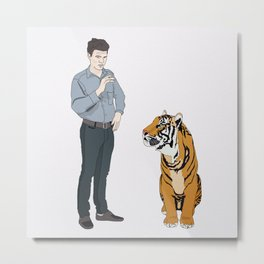 Thomas & Kip Metal Print