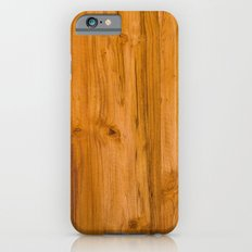 Teak Wood Slim Case iPhone 6