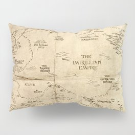 Map of Imirillia Pillow Sham