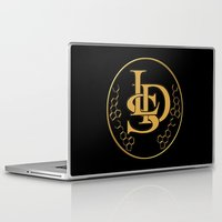 lsd Laptop & iPad Skins featuring LSD by PsychoBudgie