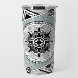 Hypnotic Mandala Travel Mug