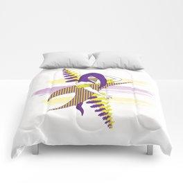 Calligraphy Girl Comforters