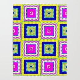 Square Framed Poster