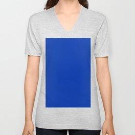 UA blue Unisex V-Neck