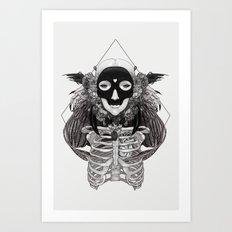 Las Muertitas: Sister Light Art Print