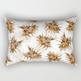 Thorny devil Rectangular Pillow
