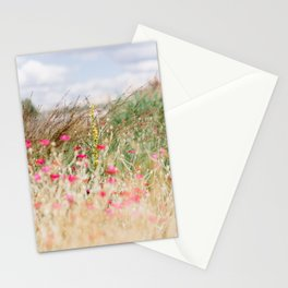 Aquarelle dreams of nature Stationery Cards