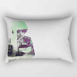 Bob Dylan Psychedelic Rectangular Pillow