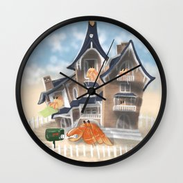 Hermit Crabs family Wall Clock