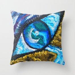 Beyond Humanity - Mazuir Ross Throw Pillow