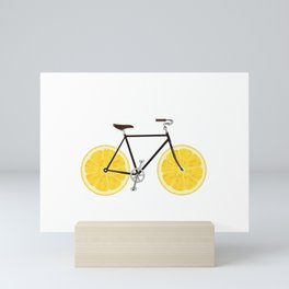 Lemon Bike Mini Art Print