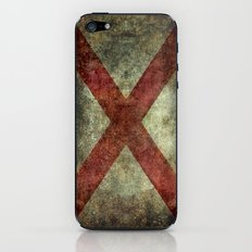 Alabama state flag iPhone & iPod Skin