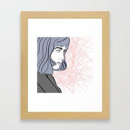 Beauty in Bloom: Annita Framed Art Print