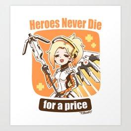 Mercy Art Print