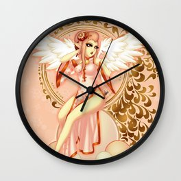 Fire Bird 2017 Wall Clock