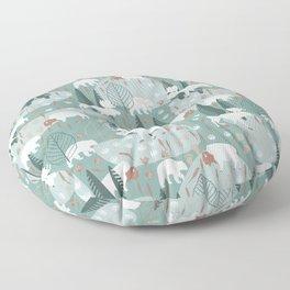 Yellowstone (Moss) Floor Pillow