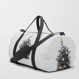 Decorated christmas tree Duffle Bag