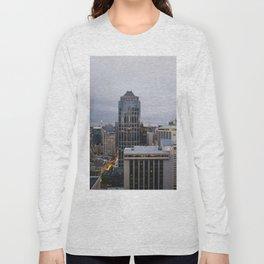 Downtown Seattle Cityscape Long Sleeve T-shirt